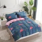 新款芦荟棉床笠四件套卡通单双人床套床垫保护罩套件外贸批发代发